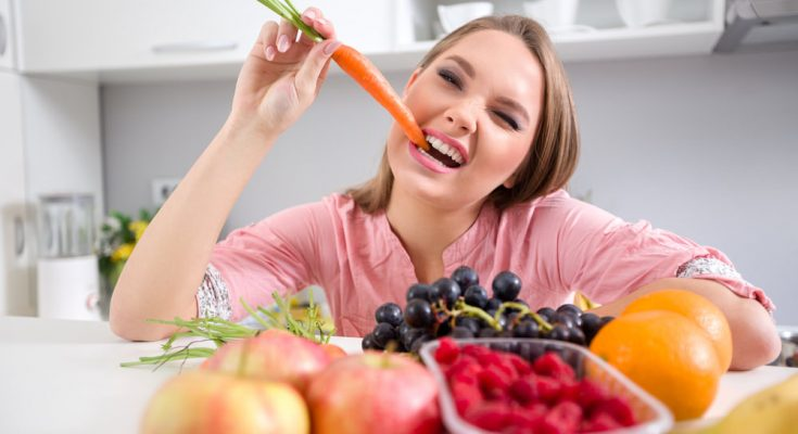 What are the benefits of a fruit and vegetable diet?